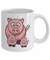 Funny Pig Mug Pig Lover Gift Mug For Her Farmer Gift Rancher Gift Cowboy Gift