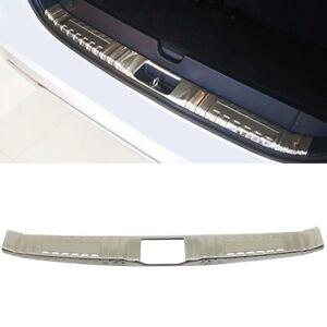 Fit for Mitsubishi Pajero Sport 2020 Silver Rear Inner Bumper Protector Trim 1PC