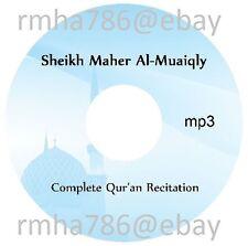 Sheikh Maher Al Muaiqly Full Quran Recitation mp3 CD (no translation)