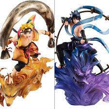 NARUTO Anime Uzumaki Naruto & Uchiha Sasuke Remix PVC Figure Model Gift Toy