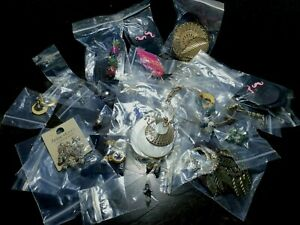 30 x Job Lot earrings mixed bundle upcycle resell resale costume free UK p&p