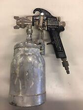 Vintage Binks Model 18 Paint Spray Gun With Cup Model 450