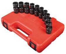 "Sunex Tools 3657 10 Piece 3/8"" Drive Swivel Impact Socket Set 10-19Mm"
