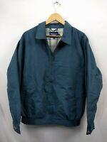Mens Premier Man  Blue Casual Long Sleeve Jacket Coat Size Large #2C4