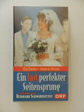 VHS Video Kassette Ein fast perfekter Seitensprung Elfi Eschke Andreas Vitasek