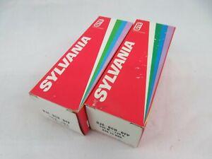 2 Vtg Sylvania 120v 150W DJA DCH DFP Projection LIGHT BULBS 8mm Projector Lamp