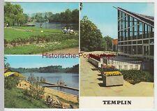 (99290) AK Templin, Mehrbildkarte, 1977
