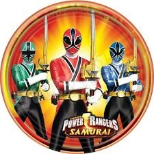Power Rangers Decoration Gateau Disque Azyme Comestible Anniversaire 20cm