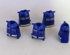 5X TORSO CUERPO POLICIA PLAYMOBIL SWAT COMISARIA CITY HOSPITAL POLICE POLIZEI 02