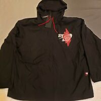 NWT Nike AIR JORDAN Jumpman Wings Classic Jacket Size 2XL Black Red BQ8476-010
