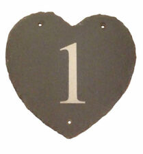 House Name Heart Decorative Plaques & Signs