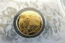 2021 1 Gram PROOF GOLD Armenia NOAH'S ARK  Coin In Assay .999.9 fine