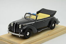 MEGA RARE !!! Opel Admiral 4 door`s Cabriolet 1938 Black Hand Made 1/43