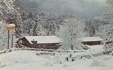 LAM(X) Fish Camp, CA - The Swiss Melody Inn - Exterior - Winter