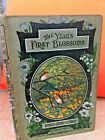 Rare 1920s vintage book The Year's First Blossoms Rambles among flowers ILLUS
