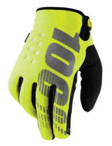 BRISKER Motorcycle Mountain Bike Full-Finger Gloves Thicker for Men and Women