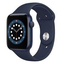 Brand New iWatch Series 6 GPS, 44mm Blue Case/Blue Sport Band 1 yr Warranty