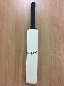 Jacques Kallis Signed Mini Cricket Bat South Africa Test Autograph Memorabilia
