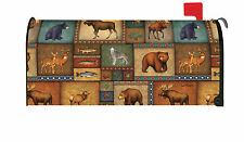 NEW Toland - Quilted Wilderness - Decorative Moose Bear Deer Mailbox Cover