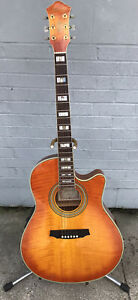 Ibanez AE40-OS 6-String Acoustic Guitar, Natural  Gloss #AE40-OS