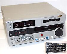 SONY DSR-1800AP PROFESSIONALE DIGITALE VIDEOCASSETTE RECORDER DVCAM MASTER SERIE