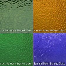 Wissmach Stained Glass Sheet Pack #H - 4 Sheets of ENGLISH MUFFLE (Size 8X10)