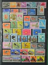 SINGAPORE STAMPS SELECTION ON 2 SIDES OF LARGE STOCK CARD  (C61)