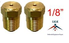 """1/8"""" Air Compressor Auxiliary Unloader Assist Needle Valve Solid Brass USA Made"""
