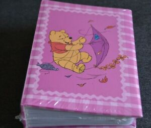 "Winnie the Pooh Photo Album UMBRELLA  4' x 6"" Photos, NEW/SEALED PINK"