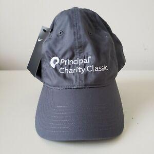 Principal Charity Classic Golf Nike Heritage 86 Hat Cap Black Adult Strapback
