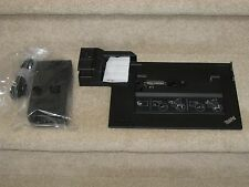 Lenovo Thinkpad 4338 Docking Station 3.0 USB Lenovo170W AC Key W520 W530 433835u