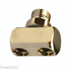"Adapter Splitter Hose Male Regulator to Female 3/8"" x2 LP Hose Scuba Diving AA67"