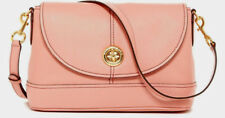 NWT Marc Jacobs New York Turnlock Small Leather Messenger Crossbody Bag Blush