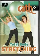 Yoga Stretching DVD EXERCISE DVD - CATHE FRIEDRICH TOTAL BODY STRETCHING DVD!