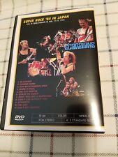 SCORPIONS - DVD Super Rock Japan - outdoor concert 1984 -good quality Rare Promo