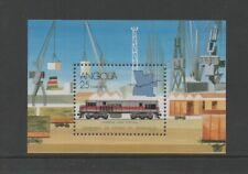 ANGOLA 1990 BENGUELA & LUANDA RAILWAYS M/SHEET *VF MNH*
