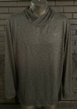 Nike Drifit Pullover Shirt Hoodie Gray Men's 2Xl