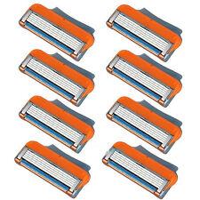 8 Stück Ersatzklingen Rasierklingen Klingen für Gillette Fusion / Power Rasierer