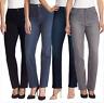 NEW Gloria Vanderbilt Women's Amanda Jeans VARIETY OF COLORS, SIZES & LENGTHS