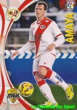 385 AMAYA ESPANA RAYO VALLECANO Wigan Athletic CARD MEGACRACKS 2016 PANINI