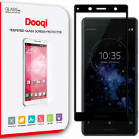 For Sony Xperia XZ2 Compact Full Cover 3D Curved Tempered Glass Screen Protector
