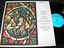 Hans Heintze alla Argento Uomo Orgel a.../DDR REISSUE LP 1983 eterna 825953