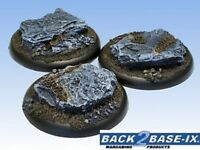 50mm Resin Scenic RS Bases 3 Slate