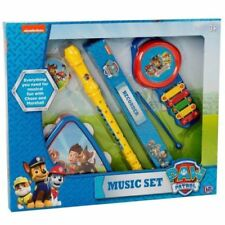 5pc Paw Patrol Giant Music Set Mini Band Tambourine Flute Recorder Kids Toy Gift