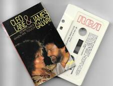 cassette tape CLEO LAINE & JAMES GALWAY sometimes when we touch RCA RK 25296