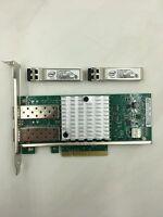Intel 82599ES Dual Port X520-DA2 E10G42BTDA+2PC Intel FTLX8571D3BCV E10GSFPSR
