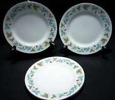 3 MS Fine China Japan VINTAGE #6701 Bread Plates-Set of Three (loc-D54)