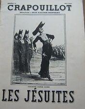 LE CRAPOUILLOT 1954 No SPECIAL  LES JESUITES DAUMIER JESUS INDIENS MIRACLES