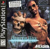 Shadow Man (Playstation 1, PS1) Disc Only, Tested, Fast Free Shipping!