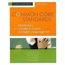 NEW Common Core Standards for Elementary Grades 3-5 Math and English Language...